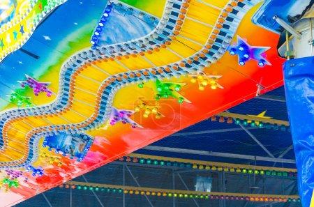 Fairground, Fairground, Colorful lights
