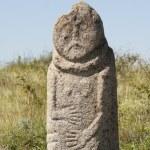 Scythian stone idol (Kurgan stelae