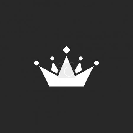 crown logo business card