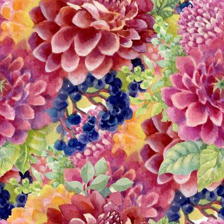 garden blooming flowers