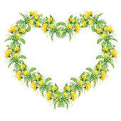 heart shaped frame pattern