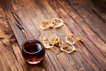 Jahrgang kleines Weinglas