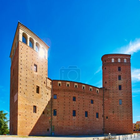 Fossano medieval castle