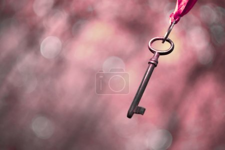 Pink key background