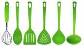 Kuchyňské potřeby - zelené