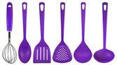 Kuchyňské potřeby - fialová