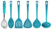 Kuchyňské potřeby - světle modrá