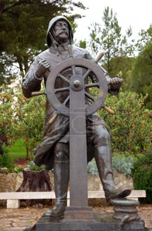 Monaco Statue of Prince Albert
