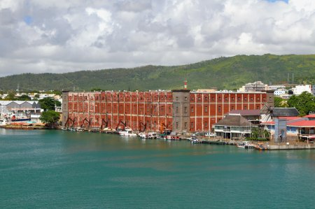 Building of astrolabe Port Louis