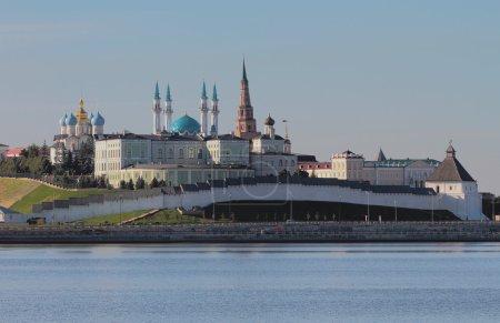 River Kazanka and Kazan Kremlin, Tatarstan, Russia