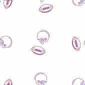 Vector background for American football