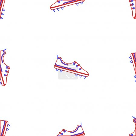 Vector background for American football shoes