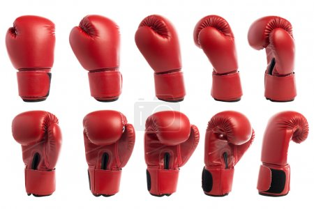 Boxing glove isolated on white