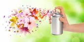 Virág illatú szoba spray és virágok-2