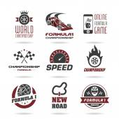 Formula 1 icon set sport icons and sticker - 3
