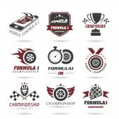 Formula 1 icon set sport icons and sticker - 2