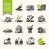 Herbs can be used in studies such as the nature and quality icon set