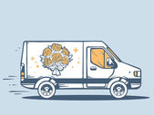 fast delivering bouquet