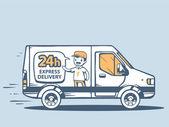 express delivering