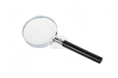 Magnifying Glass Isolated on a White
