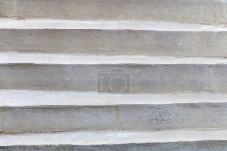 Photo for Concrete stairs steps background - construction detail - Royalty Free Image