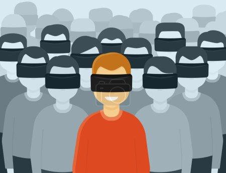 Virtual reality generation