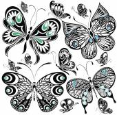 Schmetterling-Set