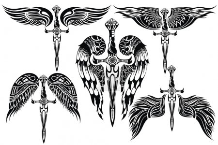 Wings and Sword big set