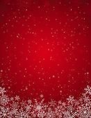 Red christmas background vector illustration