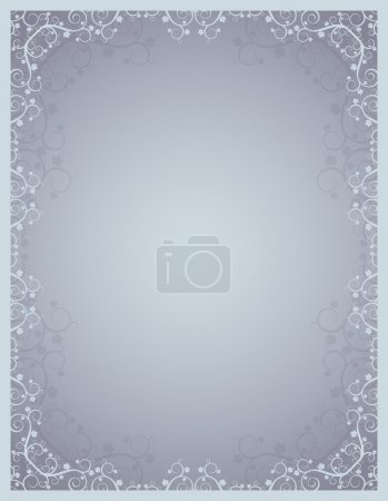 Grey vector certificate background
