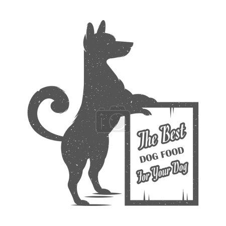 Vector Illustration Funny Dog