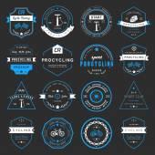 Badges and logos Cycling