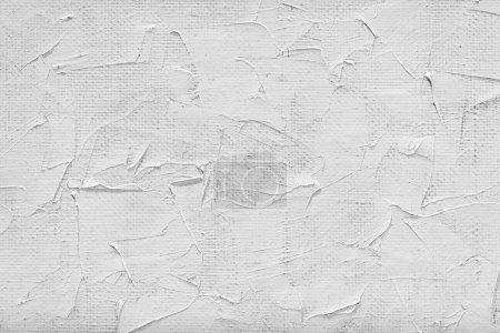 Foto de Lienzo en blanco y pintura blanca - Imagen libre de derechos