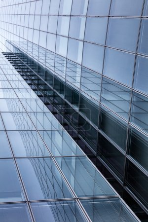 Photo for Business building, office buildings. Modern glass silhouettes on modern building. skyscraper windows - Royalty Free Image
