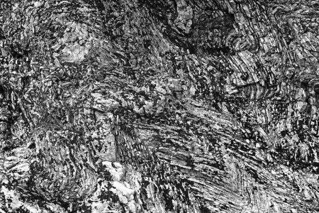 Photo pour Plis dans la roche, fond abstrait - image libre de droit