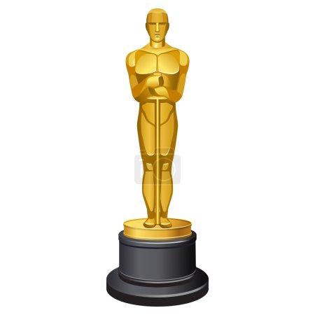 famous Oscar statue