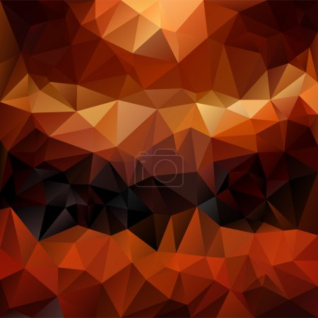 Vector polygonal background with irregular tessell...