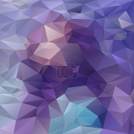 Vector polygonal background triangular design amethyst colors - purple, violet, blue