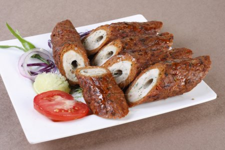 Mixed Kebab - A grilled meat snack from India