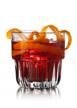 Negroni alcoholic cocktail