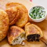 Colombian empanadas (snack sized savory patties) o...