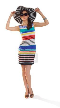Woman posing mockup