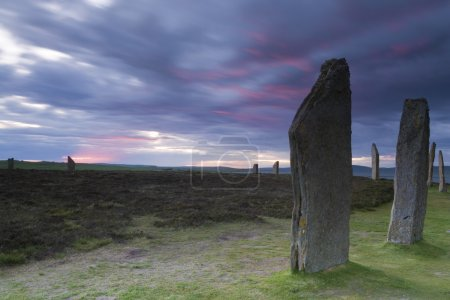 Sunset at the Ring of Brodgar, Orkney