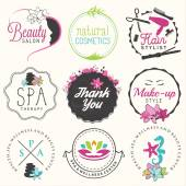 Beauty Salon Spa and Wellness Design Elements in Vintage Style