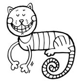 cheshire cat for tale Alice in Wonderland