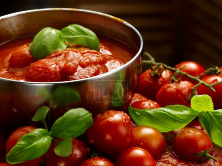 Photo for Tomato sauce in all its forms - Royalty Free Image