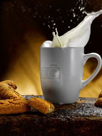 Photo for Milk and cookies - Royalty Free Image