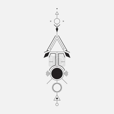 Geometric arrow