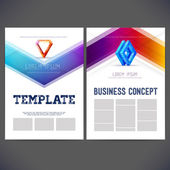 Business kit with abstract background