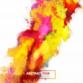 abstract watercolor palette